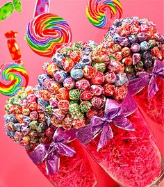 My center piece choice! Candy Bouquet!!
