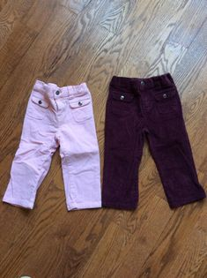 NWT Baby Girl GAP Stretch Purple Pink Leggings 3-6-12-18-24-2T-3T-4T-5T