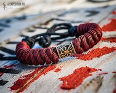 Thanks For The Gift, Brass Buckle, Paracord Bracelets, Edc, Unique Jewelry, Creative, Handmade Gifts, Leather, Vintage