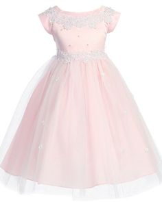 Your Discount Store: Apparel: Girls KID Collection New Princess Tulle Flower Girl Dress