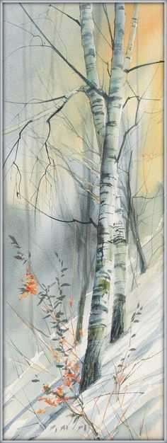 WATERCOLOR BEATA GUGNACKA #LandscapeWatercolor