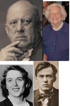 Alister Crowley & his daughter