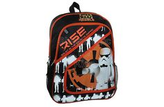 """Star Wars Rebels Backpack   Features:  * 2 Zip compartments - 1 large and 1 small  * 2 side MESH pockets  * Padded adjustable back straps with highly visible reflective strips  * Dimension: 12"""" x 16"""" . To order: http://www.shopaholic.com.ph/#!/Star-Wars-Rebels-Backpack/p/46296952"""