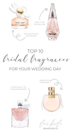 Top 10 Bridal Fragrances for your Wedding Day Perfumes Top, Perfume Tommy Girl, Miss Dior Blooming Bouquet, Perfume Scents, Best Fragrances, Best Perfume, Perfume Collection, Wedding Day, Skin Care