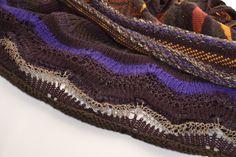 'Marquetry & Tweed'. Hand machine knit detail by Melbourne textile designer Bree Ellett. 2012