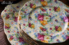 Royal Albert...Rosetime Chintz ... beautiful pattern :)