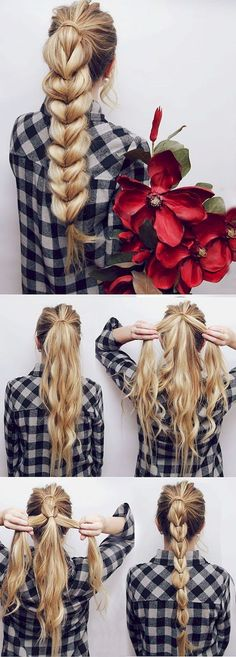 Cool 57 Five Minute Gorgeous and Easy Hairstyle  #Easy #Gorgeous #Haircuts #Hairstyle #Ideas