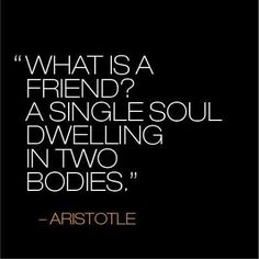 Absolutely love this...blessed with special friends