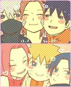 Team 7 and Team Minato #anime #manga