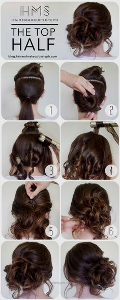 Cool and Easy DIY Hairstyles – The Top Half – Quick and Easy Ideas for Back to S… http://www.hairdesigns.top/2017/07/23/cool-and-easy-diy-hairstyles-the-top-half-quick-and-easy-ideas-for-back-to-s/
