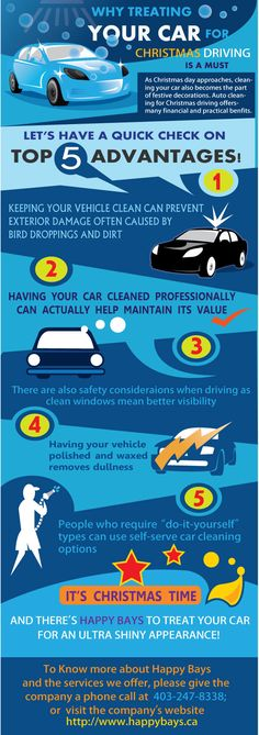 Since this festive season calls for celebration decoration, why not treat your car with the best #autodetailing services? Check out our infographic and know the importance of giving your car a brand new look before you go out to enjoy festive driving!