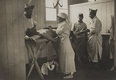 Les infirmières durant la grande guerre. WW1.