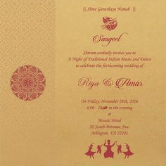 wedding invitation wording for sangeet ceremony