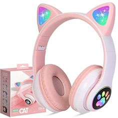 Light Up Headphones, Gaming Headphones, Gaming Headset, Accessoires Iphone, Christmas Gifts For Girls, Headphone With Mic, Barbie, Pink, Travel Supplies