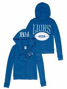 Detroit Lions Zip Hoodie Detroit Sports effb20559