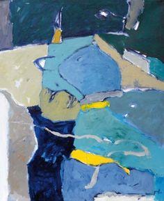 Michel GRAFF  2006 Acrylique sur toile, 100 x 81 cm