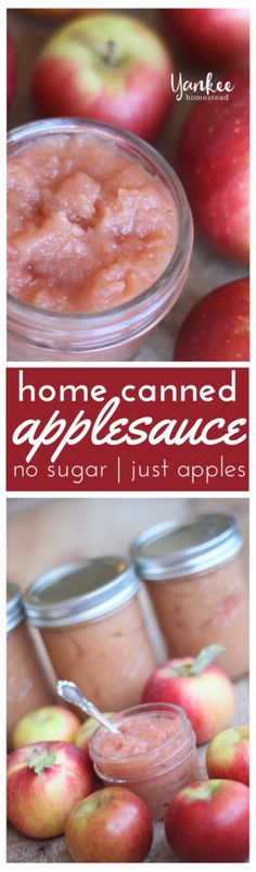 prepare yourself for some amazing applesauce. Choose 2 or 3 apple varieties for a sweeter, more flavorful sauce.