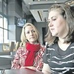 """With EDS – """"The Glue in Your Body Doesn't Work Properly Any More.""""   Ehlers-Danlos Syndrome Canada is a very active organization helping those in their area with EDS.  By Alison Langley, Niagara Falls Review Picture: Tiffany Skladan, founder and president of the Ehlers-Danlos Syndrome Canada, and Kathleen Eubanks,"""