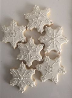 Your place to buy and sell all things handmade Snowflake Sugar Cookies Star Sugar Cookies, Sugar Cookie Royal Icing, Christmas Sugar Cookies, Iced Cookies, Holiday Cookies, Holiday Desserts, Holiday Baking, Cupcake Cookies, Christmas Baking
