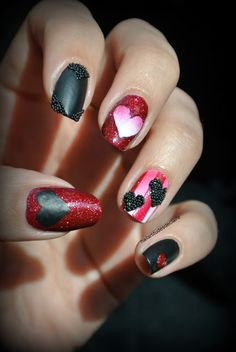 Nailartitudesdeclaire: VALENTINE   #nail #nails #nailart