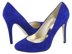 Guess blue suede pumps