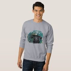 """Mobil Gallery """"phone"""" Sweatshirt - drawing sketch design graphic draw personalize"""