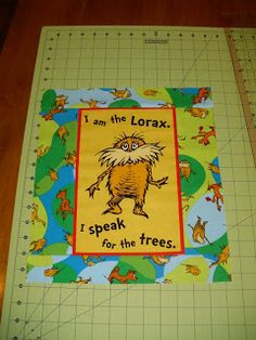 Beaquilter: Dr Seuss The Lorax quilt blocks tutorial, quilt along and more