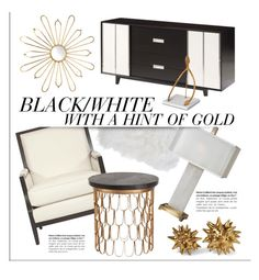 """Hints Of Gold"" by kathykuohome ❤ liked on Polyvore featuring interior, interiors, interior design, home, home decor, interior decorating, Ryder, Home and homeset"