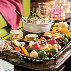 40 Party Appetizer Recipes | Quick Winter Pickled Veggies | SouthernLiving.com