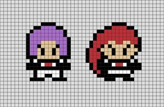 Team Rocket& main goal was obtaining powerful and rare Pokémon to help their criminal syndicate in the hopes of someday taking over the world. Pokemon Team Rocket, Mega Pokemon, Art Pokemon, Pokemon Fusion, Pokemon Cards, Melty Bead Patterns, Perler Patterns, Diy Embroidery, Cross Stitch Embroidery