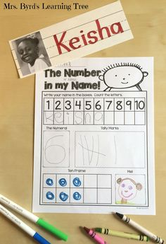 Hi there! This post is about using your students' names as a beginning of the year literacy theme. In kindergarten, these little stude...