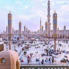 Looks like something out of Starwars but its the City of Medina Saudi Arabia