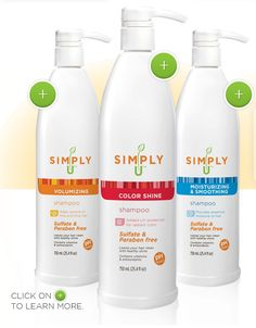 Simply U...probably the best shampoo and conditioner I have ever bought!