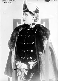 Photo of Crown Princess Rumania Number 11672 Vintage 23929 Romanian Royal Family, Royal King, Library Of Congress, Queen Victoria, King Queen, Parka, Riding Helmets, Royalty, Batman
