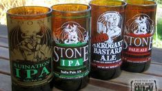 Turn Beer Bottles into Attractive, Cheap Glasses