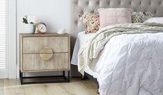 Boho bedside table