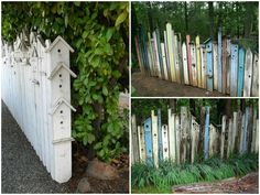 Birdhouse Fences