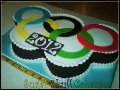 Olympic Rings Cake - cake by Shey Jimenez