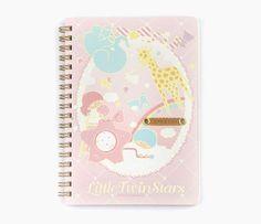 Little Twin Stars Notebook: Zoo