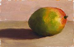 Mango, Afternoon, Guatemala - A Berkeley Daily Oil Painting by Seamus Berkeley