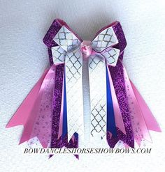 @horseshowbows in the Fancy Bows Section. Bowdangles Horse Show Bows. Are you ready for the year-end big shows? #shortstirrup #equestrianstyle #horseshow #ponyrider #leadline #bowdangleshorseshowbows Equestrian girls in Bowdangles Horse Show Bows, making the best memories possible.