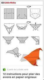 Projet avion en papier