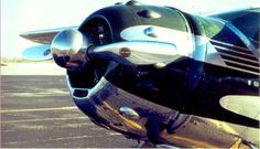 Cessna 182 with radial engine.