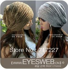 Good Quality New  Korean Version Hats,Winter Hat, Men and Women Spring Autumn Secondary Color Knitting Cap,4 Color,Free shipping $5.39