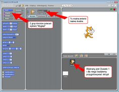 Krok po kroku tworzenie komiksów, gier i programów w programie Scratch