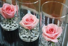 Pink Rose Centerpiece Found On-The-Palette.com