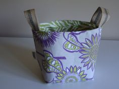 The sunflowers are back one last time this summer! Shaggy Bucket by ShaggyBaggy on Etsy, $34.00