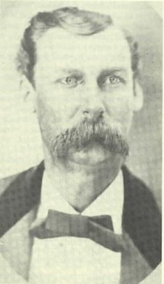 Sheriff William Brady was ambushed by the Regulators. He was allied with Murphy/Dolan, had sent the posse after Tunstall's livestock which resulted in Tunstall's murder and the beginning of the Lincoln County War. Billy Kid, Billy The Kids, Us History, American History, History Photos, Wild West Outlaws, Old West Photos, Wild West Cowboys, American Frontier