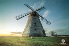 Windmill in Darbenai, Lithuania. OR. Why Lithuania loves Holland ;)