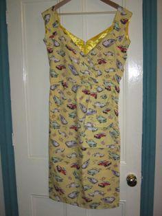 Ladies Retro Rockabilly 1950s Style Wiggle by LilRockabillyRebel, $55.00